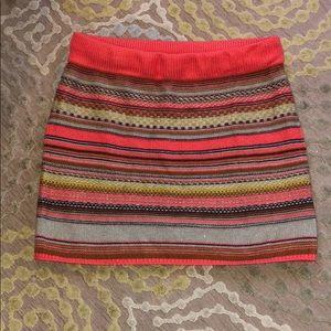 Mossimo supply fair isle sweater skirt